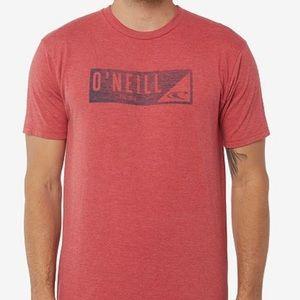 🌴 Men's O'Neill red wedge T-shirt 🌴